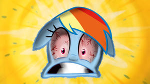 Rainbow Dash's Gross Up-Close Up by SUPERMARIOGALAXY13