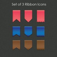 Vector Ribbon Icons by SoftPurple
