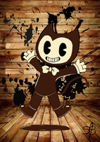 Bendy the Tittle Demon by BradTHFireght