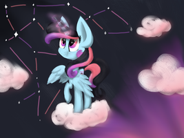 Crystallized Constellation by StrawberrySwirlinc