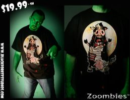 Zoombies Tshirts -colored by BfstudiosLLC