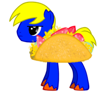 Pony Joe in a Taco suit by G-gage
