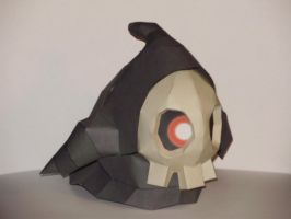 Duskull Papercraft by Skeleman