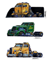 Killer Truck Sketches 5 by vsdesign69