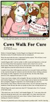 Bovine Breast Cancer March by o-kemono