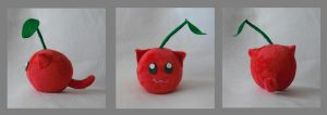 Cherry Catfruit Plush by Catfruits
