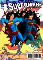 Supermen #1 classic/new 52 (fan cover) by ultimatejulio