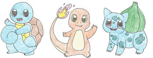 First Gen Starters by BrannaPants