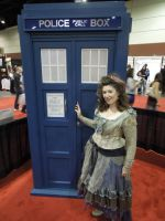 TARDIS and Idris at Megacon 2012 by Timestitcher