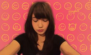 Nabilah JKT48 Kiss by SaintOfArt