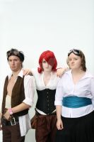 The Baron Deadly Trio by Aacura