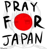 Pray For Japan by smarticles101