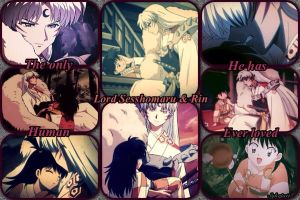 The love of Sesshomaru and Rin by Syleria11