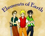 Elements of Earth for Samurai! by orientalbunny
