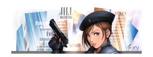 Jill Valentine signature by lefiath