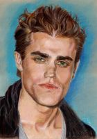 Paul Wesley of Vampire Diaries by Catluckey
