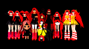 MMD All my Chipys by McChipy