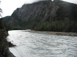 Crow's Pass Big River 3 by prints-of-stock