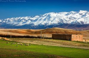 Middle Atlas Mountains by fawazalmorae