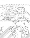 Sticks and Knuckles in SMASH by dreamcastzx