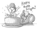 Happy Birthday Goggles by leadhooves