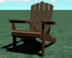 Adirondack Chair by CaptainBackSlash