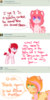 Ponies answers 1 by Rockabell-Neko