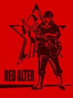 Red Alter Poster by TugoDoomER