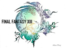 Final Fantasy XIII - color by CryForHer
