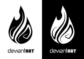 dA logo design 15 by nirman