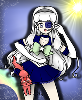 G: Sailor Astraea And Ekhi Colored by Re-Pyper