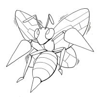 Buzzing Beedrill by drakered