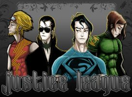 justice league by hayr