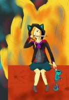 Movie Monster- Cynthia in Flame Katnapper by blossomsakuraXx