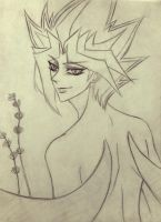 Yugioh : Yami Yugi demon Sketch by ramatto