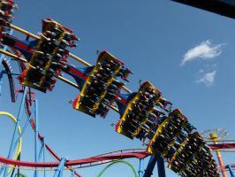 Superman Roller Coaster by RustyFanatic05