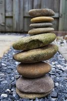 Stacked stones by FrankAndCarySTOCK