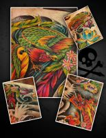 Commission Drabsch sleeve by WillemXSM