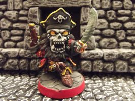 Captain R - Undead Pirate Mini-Boss for SDE by JordanGreywolf