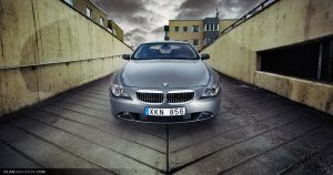 BMW 645 - up the garage by dejz0r