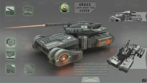 Laser Hovering Tank by spidermc