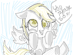 Derpy looks amazing by Jennifire