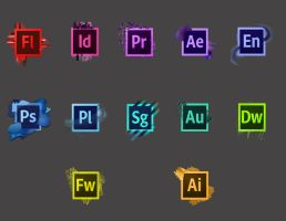 CS6 Icons Redesign by Abrcrmbieguy87