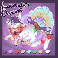 Fantsuneko DTA Lavender Dreams - CLOSED by StanHoneyThief