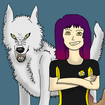 ME AND MY WOLF FORM by RGMelissa97