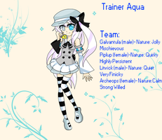 PKMN trainer Aqua by ShiroKyune