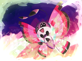 Vivillon used Sleep Powder ! by LillyNya