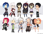 chibis 8D by Rush--it