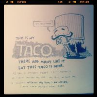The taco creed by jgurley