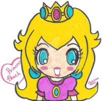 Chibi Peach by Juliana1121